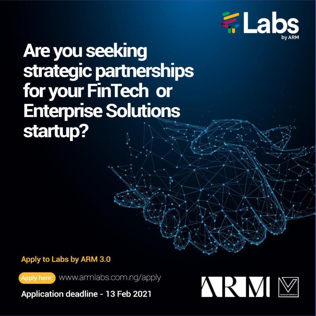 Labs by ARM Announces Five Startups For 2021 Fintech ...